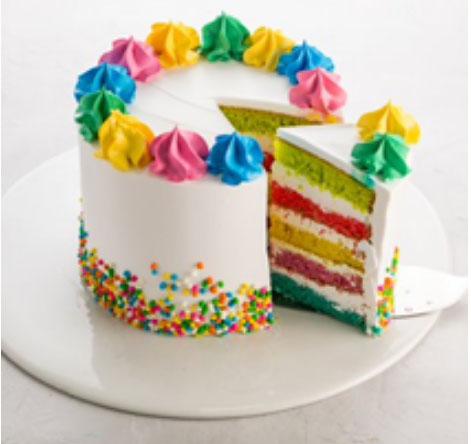 Receita de bolo colorido para adoçar o Dia das Crianças