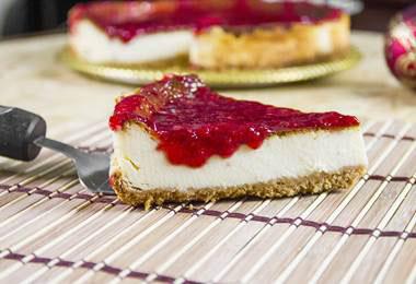 Cheesecake de morango: receita superespecial da Família Burger