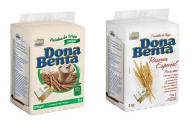 Dona Benta lança embalagem a vácuo e farinha integral