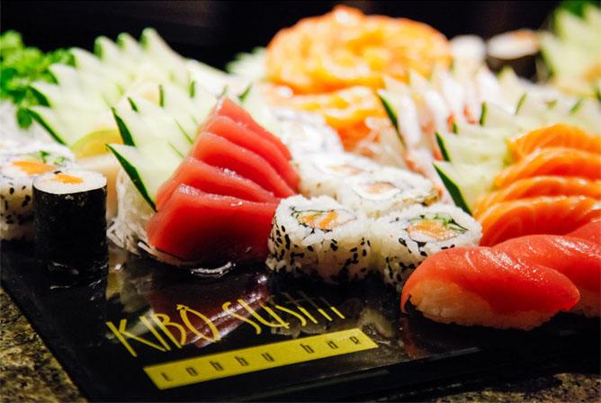 Kibô Sushi Lobby Bar oferece o melhor da gastronomia japonesa