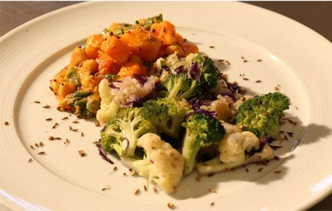 Centro Europeu ensina receita vegetariana