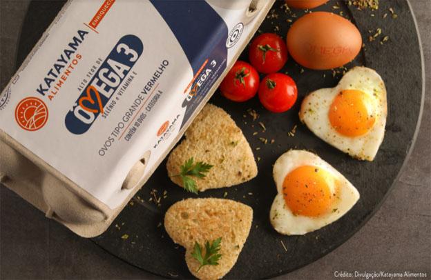 Ovos enriquecidos com Ômega 3, Selênio e Vitamina E