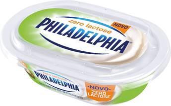 Philadelphia lança versão Zero Lactose