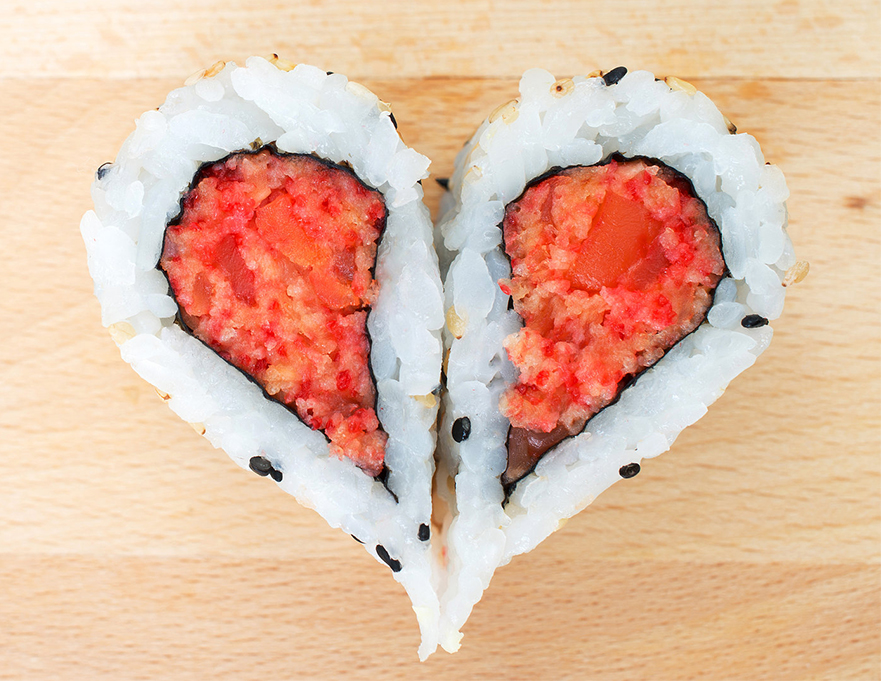 Sushi é o segundo prato favorito da maioria dos brasileiros
