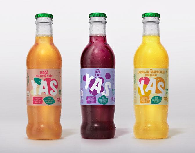 Chegou YAS, a bebida com gás 100% natural da Coca-Cola Brasil